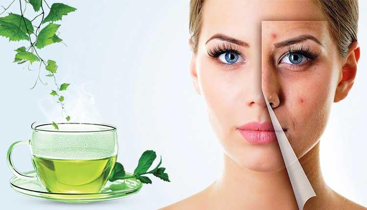 فوائد الشاي الاخضر للبشرة 18 سبب لتبدأ باستخدام الشاي الأخضر للبشرة الآن